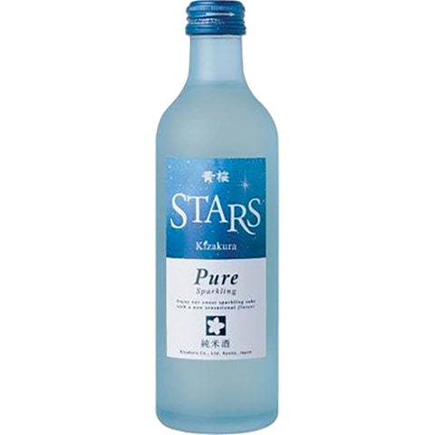 Kizakura Stars Sparkling Sake - 300ml Sparkling Sake - Drinkka Alcohol Delivery Best Whiskey Wine Gin Beer Vodkas and more for Parties in Makati BGC Fort and Manila | Bevtools Bar and Beverage Tools