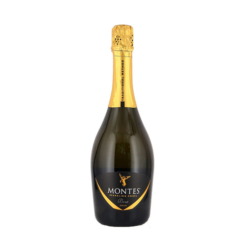 Montes Sparkling Angel Brut NV - 750ml Sparkling Wine - Drinkka Alcohol Delivery Best Whiskey Wine Gin Beer Vodkas and more for Parties in Makati BGC Fort and Manila | Bevtools Bar and Beverage Tools