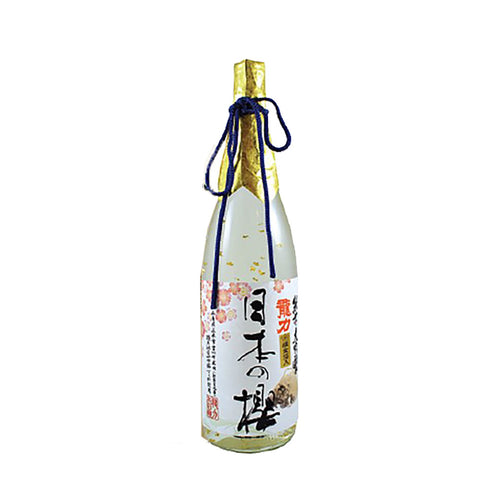 Tatsuriki Junmai Daiginjo Nihon No Sakura - 720ml Sake - Drinkka Alcohol Delivery Best Whiskey Wine Gin Beer Vodkas and more for Parties in Makati BGC Fort and Manila | Bevtools Bar and Beverage Tools