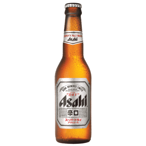 Asahi 330ml Bottle (6 Pack)