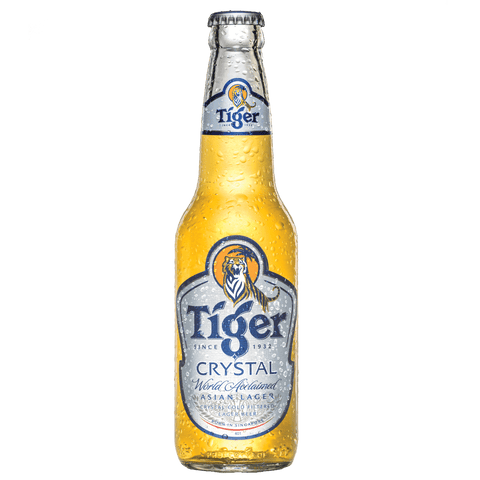 Tiger Crystal 330ml Bottle (6 Pack)