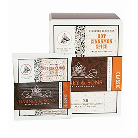 Harney & Sons Hot Cinnamon Spice Wrapped Sachets 20 pcs.
