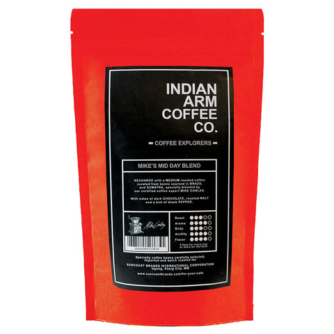 Indian Arm Coffee Mike's Mid-Day Blend 500 grams