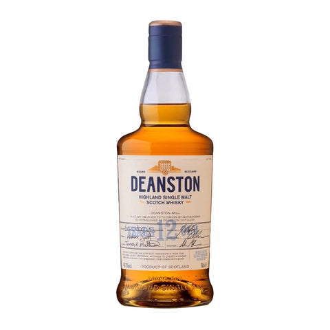 Deanston 12 Years Highland Single Malt Scotch Whisky - 700ml