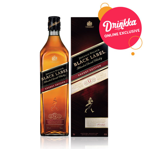 ONLINE EXCLUSIVE: Johnnie Walker Black Label Sherry Edition - 1000ml