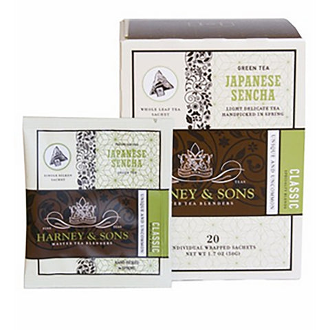 Harney & Sons Japanese Sencha Wrapped Sachets 20 pcs.