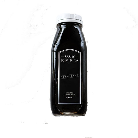 Sashy Brew Cold Brew Black - 500ml