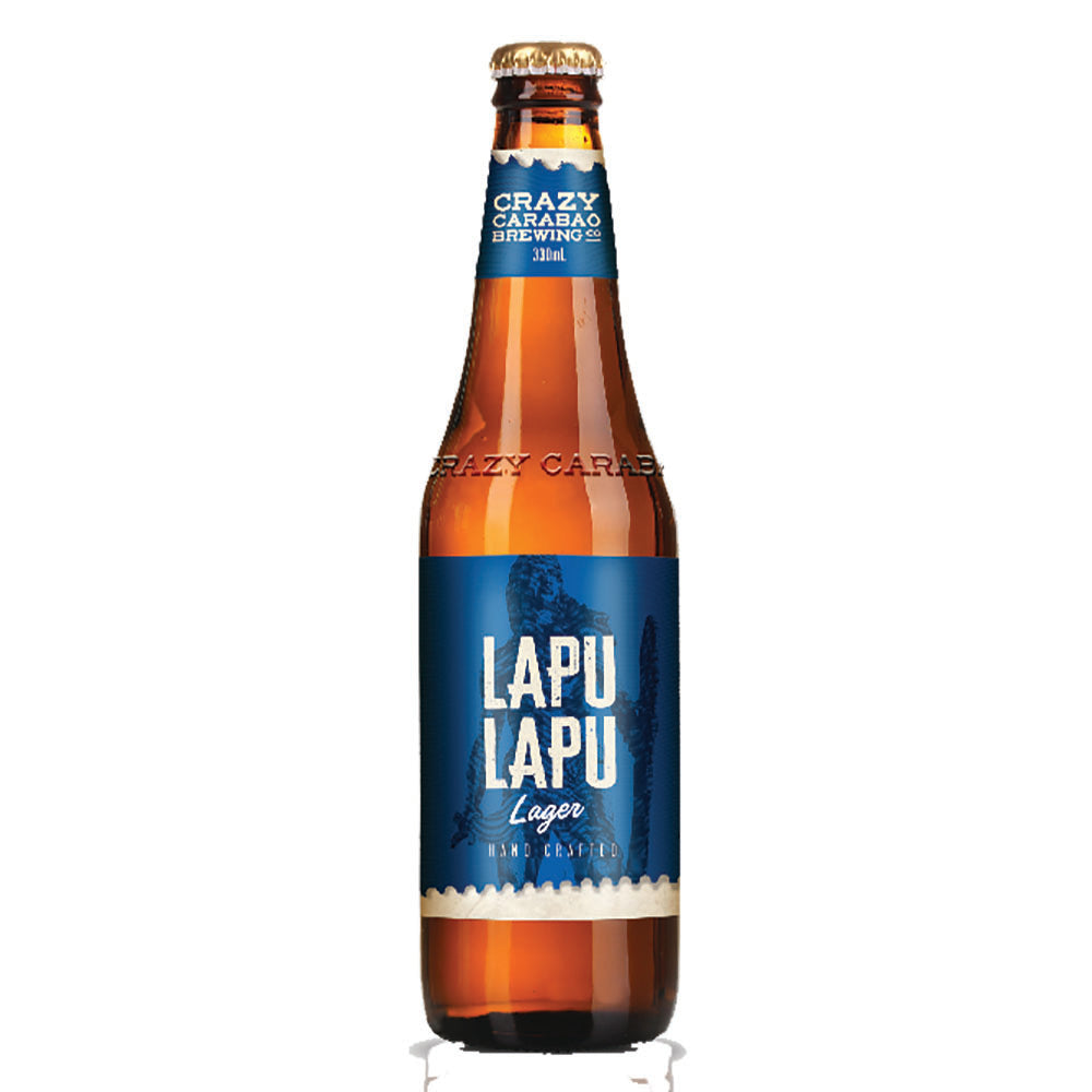 Crazy Carabao Lapu-Lapu Lager - 330ml Beer