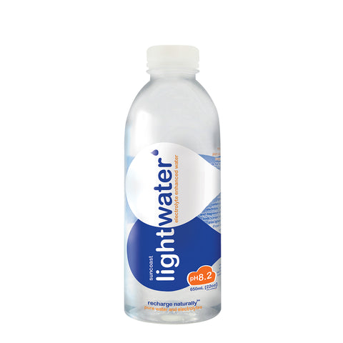 Lightwater Electrolyte Enhanced Water - 650ml (Case of 24)