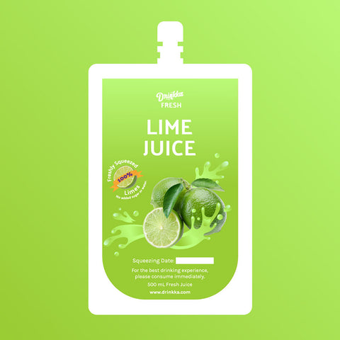 Drinkka Fresh! On-Demand Fresh Squeezed Lime Juice