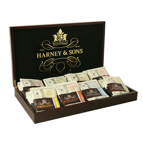 Harney & Sons Wooden Chest 56 Tea Bags