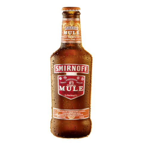 Smirnoff Mule - 330ml (6 Pack) Get a FREE Smirnoff Bottle Opener OR Phone Grip