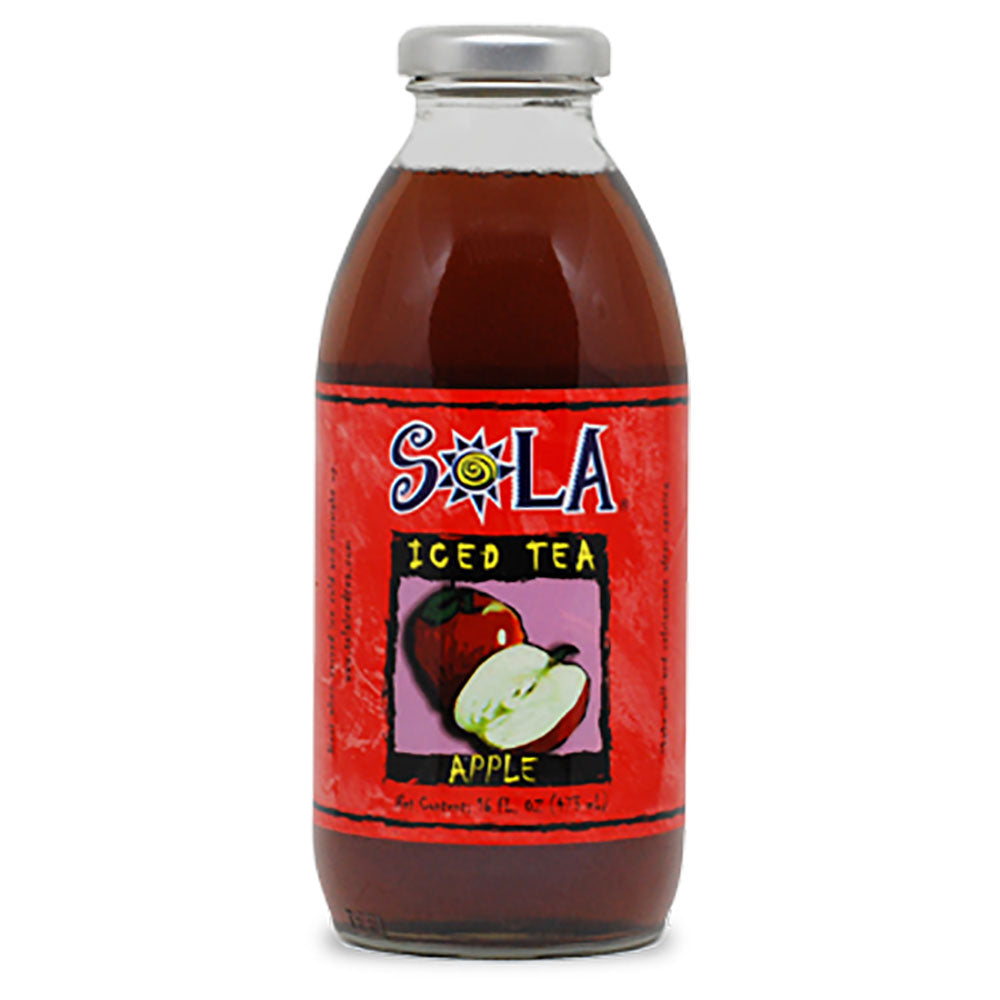 SOLA Iced Tea Apple 472ml