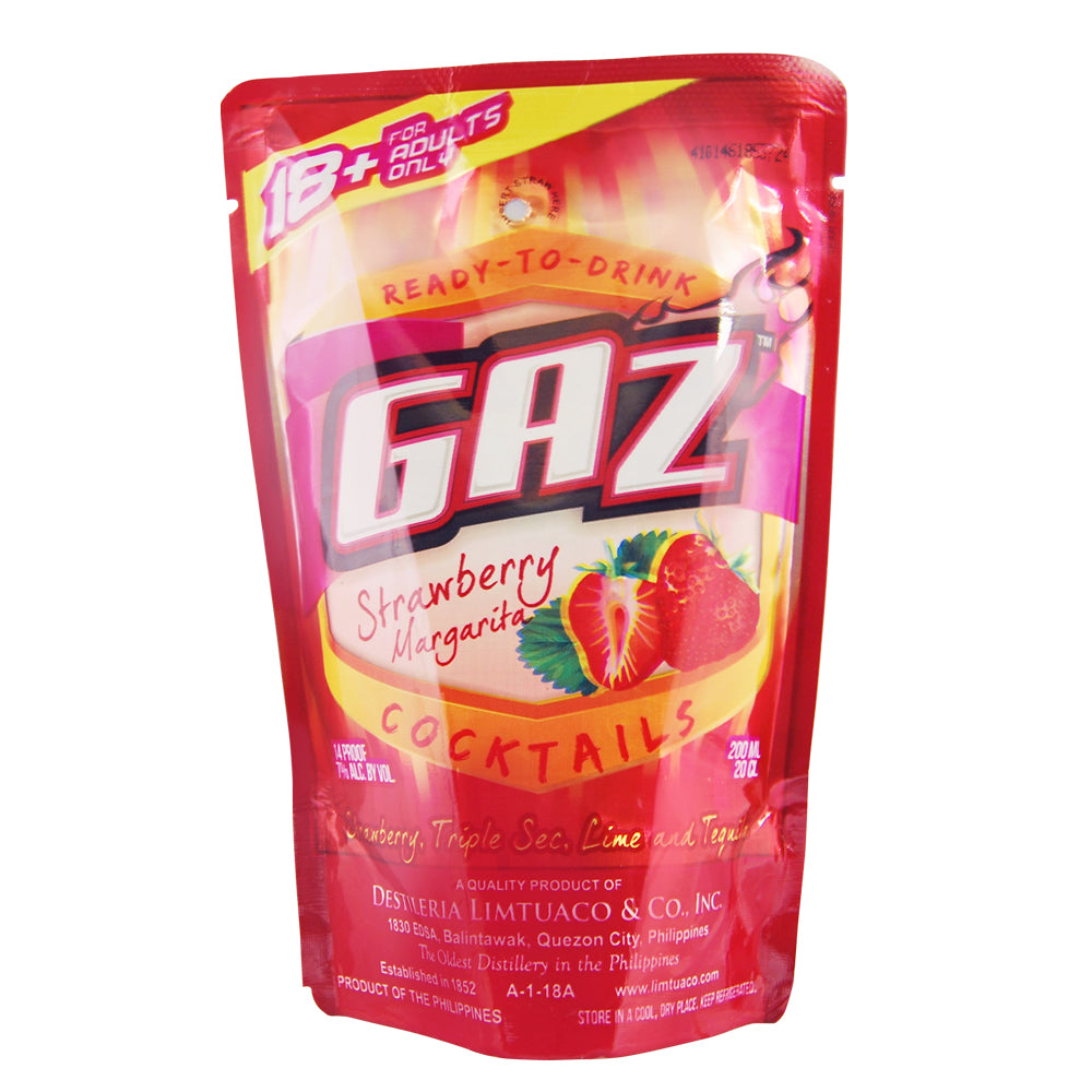 Gaz RTD Cocktail Strawberry Margarita -200ml