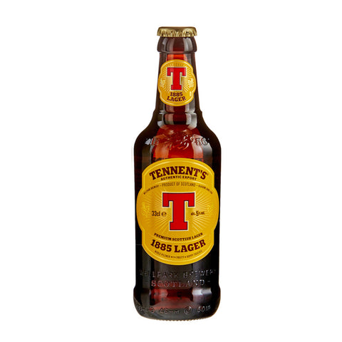 Tennent's Scottish Lager Beer 1885 -330ml