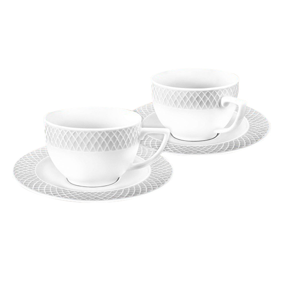 WILMAX TEA CUP & SAUCER 8OZ | 240ML