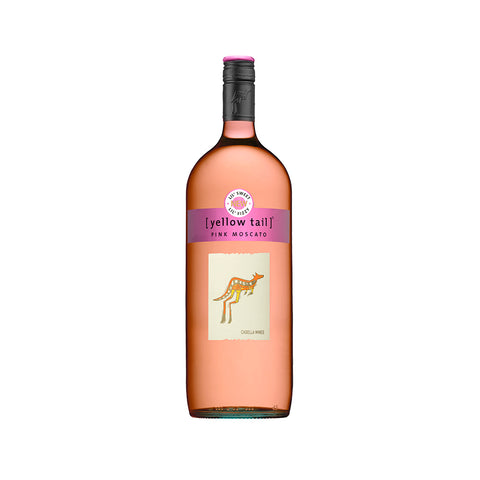 Yellow Tail Pink Moscato 750ml Rose Wine - Drinkka Alcohol Delivery Best Whiskey Wine Gin Beer Vodkas and more for Parties in Makati BGC Fort and Manila | Bevtools Bar and Beverage Tools
