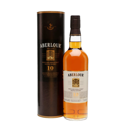 Aberlour 10 Years Single Malt Whisky - 700ml Whiskey - Drinkka Alcohol Delivery Best Whiskey Wine Gin Beer Vodkas and more for Parties in Makati BGC Fort and Manila | Bevtools Bar and Beverage Tools