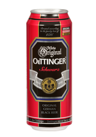 Oettinger Black Beer Pack of 6 - 500ml