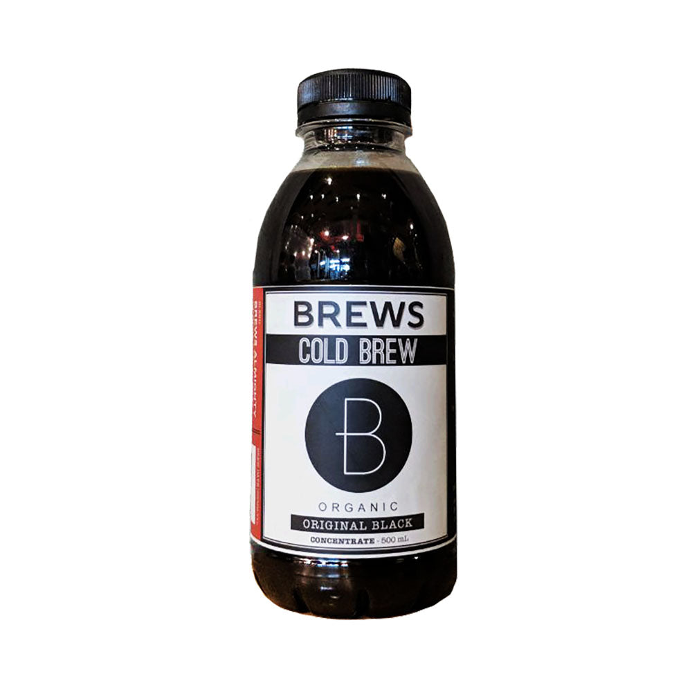Brews Cold Brew Concentrate Original Black (500mL)