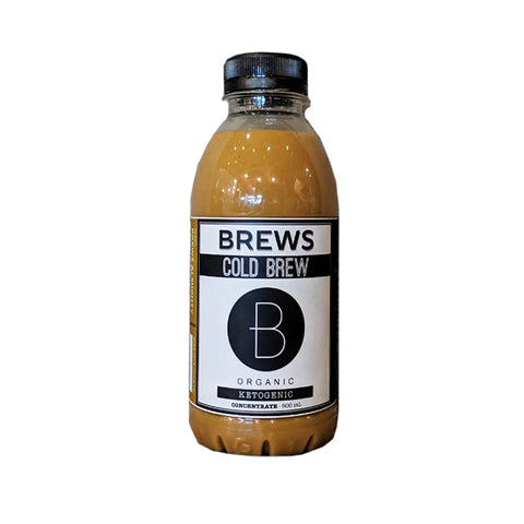 Brews Cold Brew Concentrate Ketogenic (500mL)
