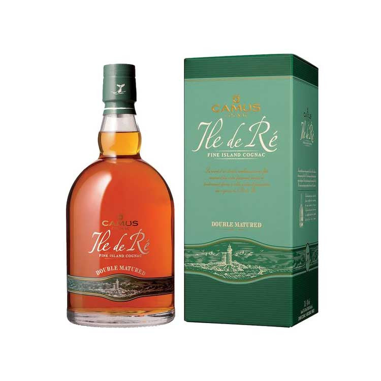 Camus Ile de Re Double Matured Cognac -700ml Cognac & Brandy - Drinkka Alcohol Delivery Best Whiskey Wine Gin Beer Vodkas and more for Parties in Makati BGC Fort and Manila | Bevtools Bar and Beverage Tools
