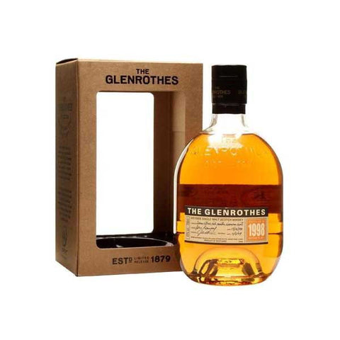 Glenrothes 1998 Single Malt Scotch Whisky - 700ml Whiskey - Drinkka Alcohol Delivery Best Whiskey Wine Gin Beer Vodkas and more for Parties in Makati BGC Fort and Manila | Bevtools Bar and Beverage Tools