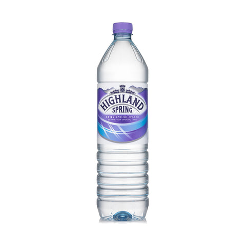 Highland Spring Still Water PET - 1500ml
