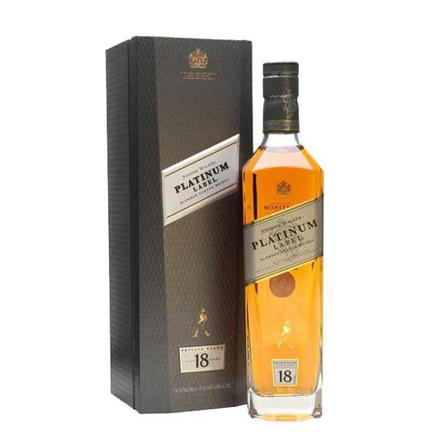 Johnnie Walker Platinum Label Blended Scotch Whisky - 700ml Whiskey - Drinkka Alcohol Delivery Best Whiskey Wine Gin Beer Vodkas and more for Parties in Makati BGC Fort and Manila | Bevtools Bar and Beverage Tools
