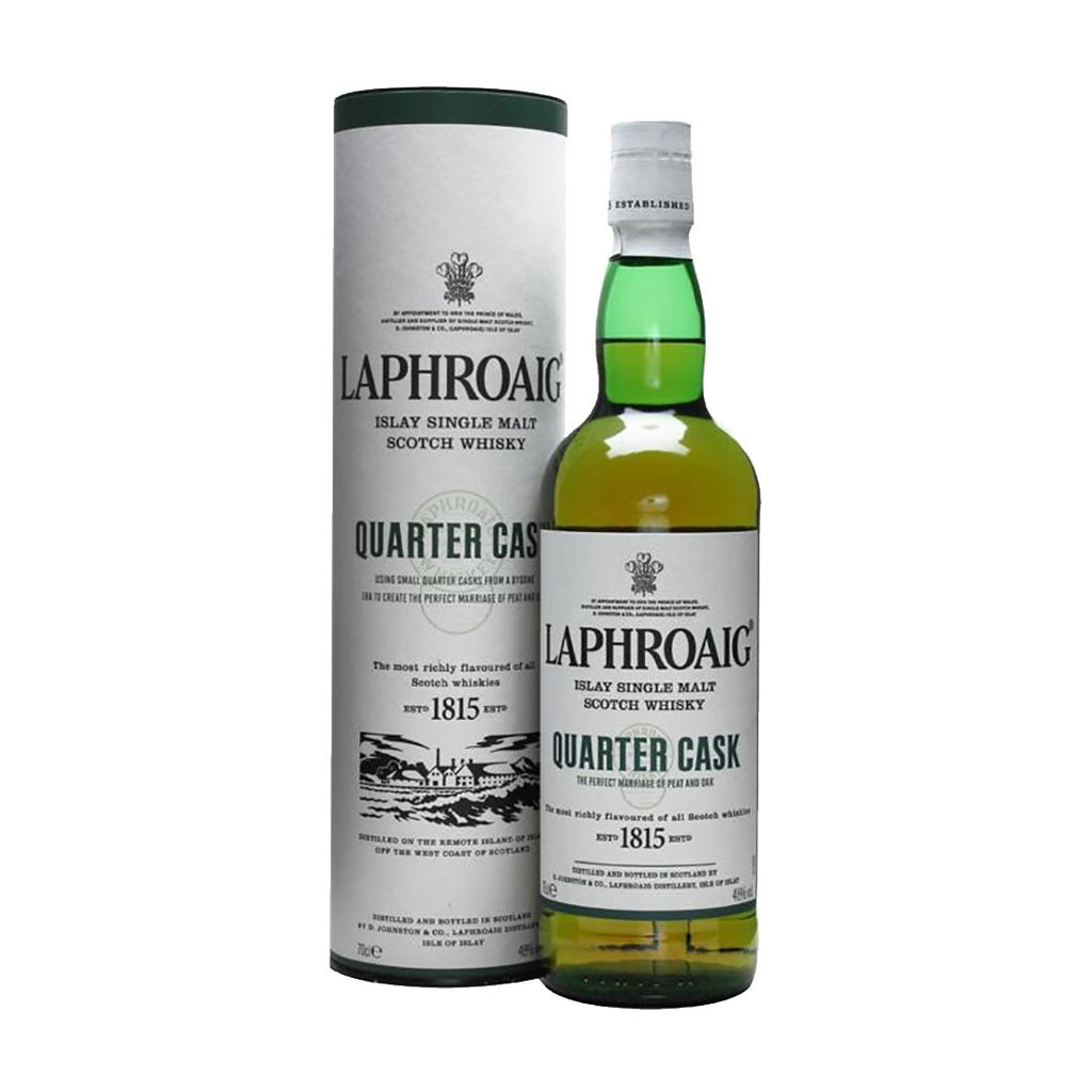 Laphroaig Quarter Cask -700ml Whiskey - Drinkka Alcohol Delivery Best Whiskey Wine Gin Beer Vodkas and more for Parties in Makati BGC Fort and Manila | Bevtools Bar and Beverage Tools