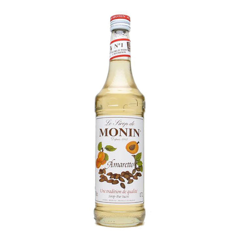 Monin Amaretto Syrup -700ml Syrups - Drinkka Alcohol Delivery Best Whiskey Wine Gin Beer Vodkas and more for Parties in Makati BGC Fort and Manila | Bevtools Bar and Beverage Tools