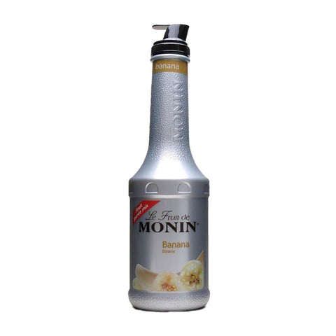 Monin Puree Banana -1000ml Syrups - Drinkka Alcohol Delivery Best Whiskey Wine Gin Beer Vodkas and more for Parties in Makati BGC Fort and Manila | Bevtools Bar and Beverage Tools