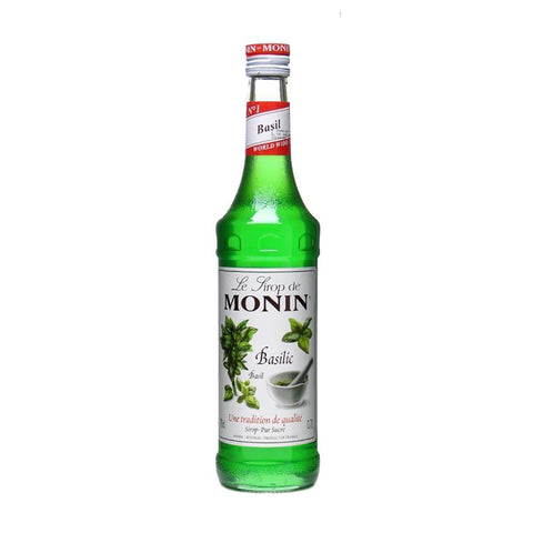 Monin Basil -700ml Syrups - Drinkka Alcohol Delivery Best Whiskey Wine Gin Beer Vodkas and more for Parties in Makati BGC Fort and Manila | Bevtools Bar and Beverage Tools
