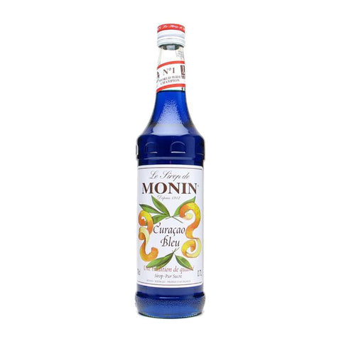 Monin Blue Curacao Syrup -1000ml Syrups - Drinkka Alcohol Delivery Best Whiskey Wine Gin Beer Vodkas and more for Parties in Makati BGC Fort and Manila | Bevtools Bar and Beverage Tools