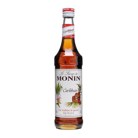 Monin Carribean Rum Syrup -700ml Syrups - Drinkka Alcohol Delivery Best Whiskey Wine Gin Beer Vodkas and more for Parties in Makati BGC Fort and Manila | Bevtools Bar and Beverage Tools