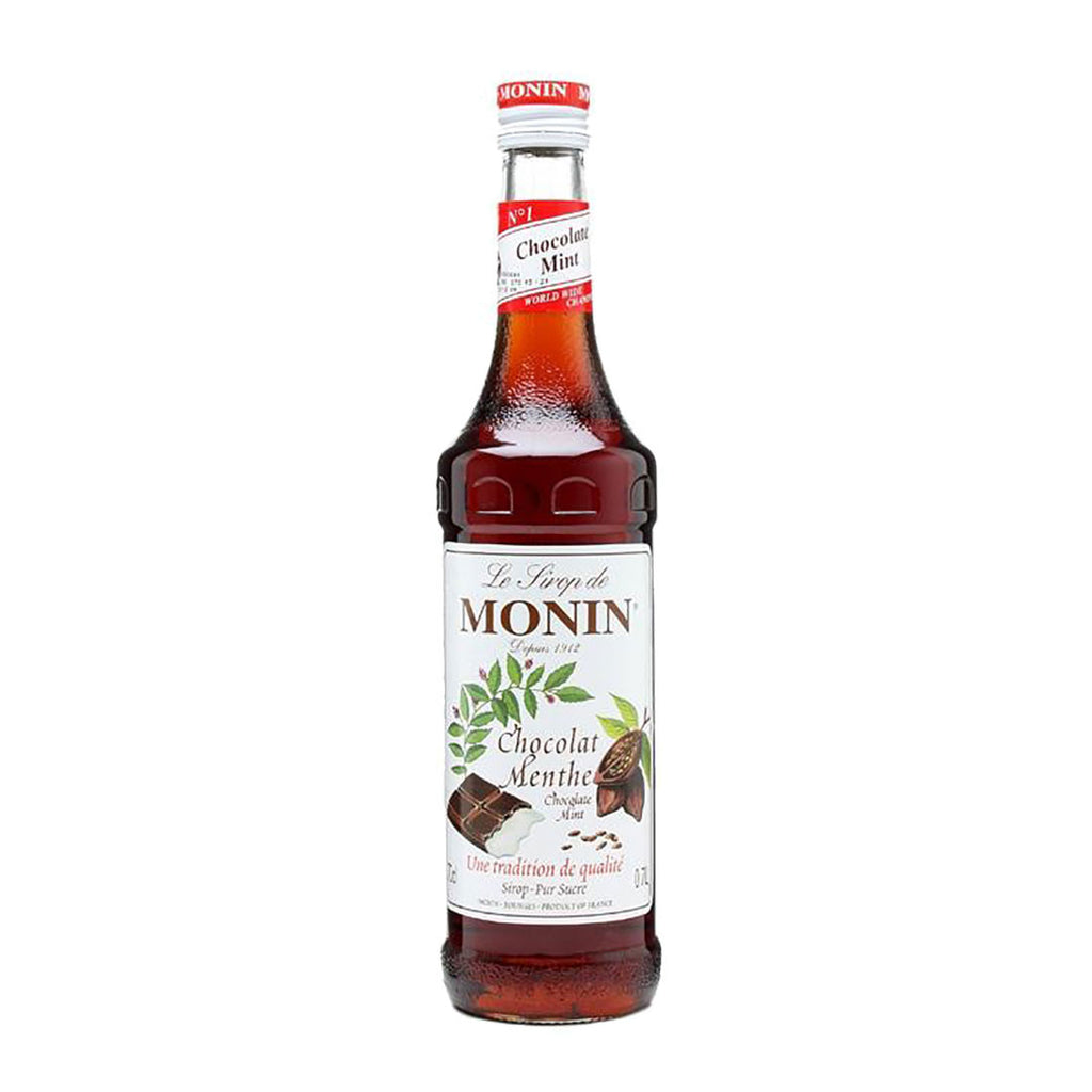 Monin Chocolate Mint -700ml Liqueurs & Syrups - Bevtools Bar and Beverage Tools | Alcohol and Liquor Delivery Makati, Metro Manila, Philippines