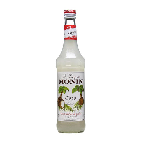 Monin Coconut Syrup -700ml - Bevtools Bar Tools and Alcohol Delivery