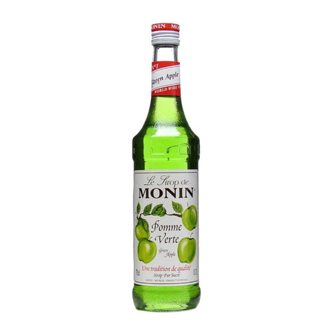 Monin Green Apple -1000ml Syrups - Drinkka Alcohol Delivery Best Whiskey Wine Gin Beer Vodkas and more for Parties in Makati BGC Fort and Manila | Bevtools Bar and Beverage Tools
