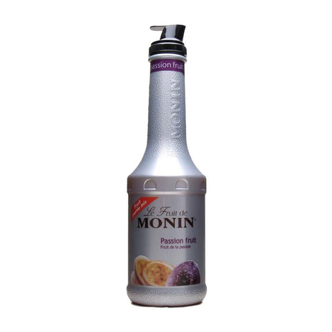 Monin Puree Passion Fruit -1000ml Syrups - Drinkka Alcohol Delivery Best Whiskey Wine Gin Beer Vodkas and more for Parties in Makati BGC Fort and Manila | Bevtools Bar and Beverage Tools