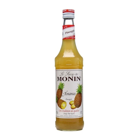 Monin Pineapple Syrup -700ml Syrups - Drinkka Alcohol Delivery Best Whiskey Wine Gin Beer Vodkas and more for Parties in Makati BGC Fort and Manila | Bevtools Bar and Beverage Tools