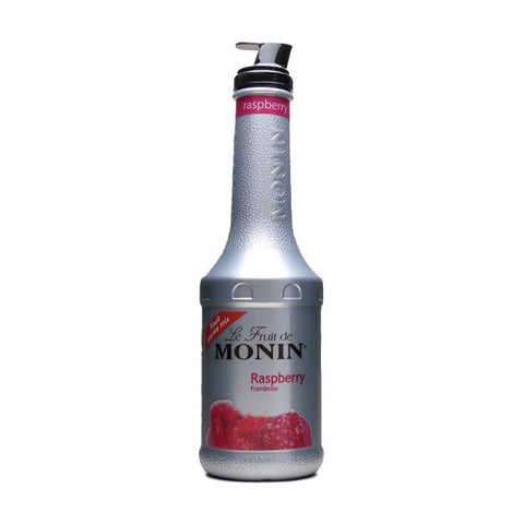 Monin Puree Raspberry -1000ml Syrups - Drinkka Alcohol Delivery Best Whiskey Wine Gin Beer Vodkas and more for Parties in Makati BGC Fort and Manila | Bevtools Bar and Beverage Tools