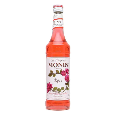 Monin Rose -1000ml Syrups - Drinkka Alcohol Delivery Best Whiskey Wine Gin Beer Vodkas and more for Parties in Makati BGC Fort and Manila | Bevtools Bar and Beverage Tools