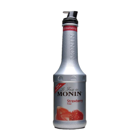 Monin Puree Strawberry -1000ml Syrups - Drinkka Alcohol Delivery Best Whiskey Wine Gin Beer Vodkas and more for Parties in Makati BGC Fort and Manila | Bevtools Bar and Beverage Tools