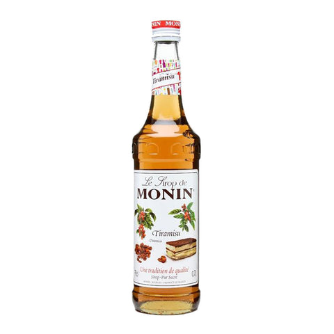 Monin Tiramisu -700ml Syrups - Drinkka Alcohol Delivery Best Whiskey Wine Gin Beer Vodkas and more for Parties in Makati BGC Fort and Manila | Bevtools Bar and Beverage Tools