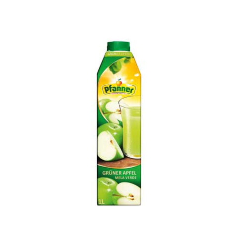 Pfanner Green Apple Fruit Juice - 1000ml Juices - Drinkka Alcohol Delivery Best Whiskey Wine Gin Beer Vodkas and more for Parties in Makati BGC Fort and Manila | Bevtools Bar and Beverage Tools