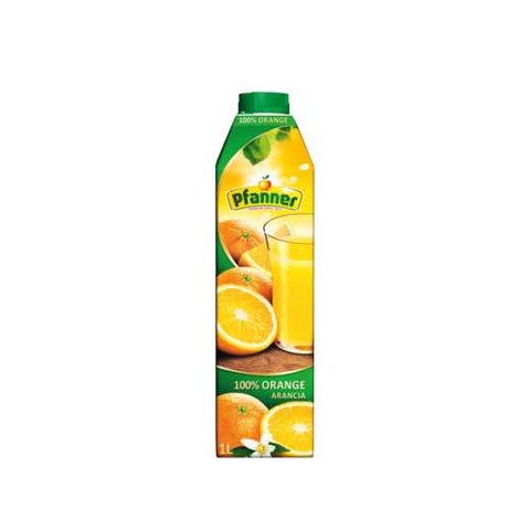 Pfanner Orange Juice 100% - 1000ml Juices - Drinkka Alcohol Delivery Best Whiskey Wine Gin Beer Vodkas and more for Parties in Makati BGC Fort and Manila | Bevtools Bar and Beverage Tools