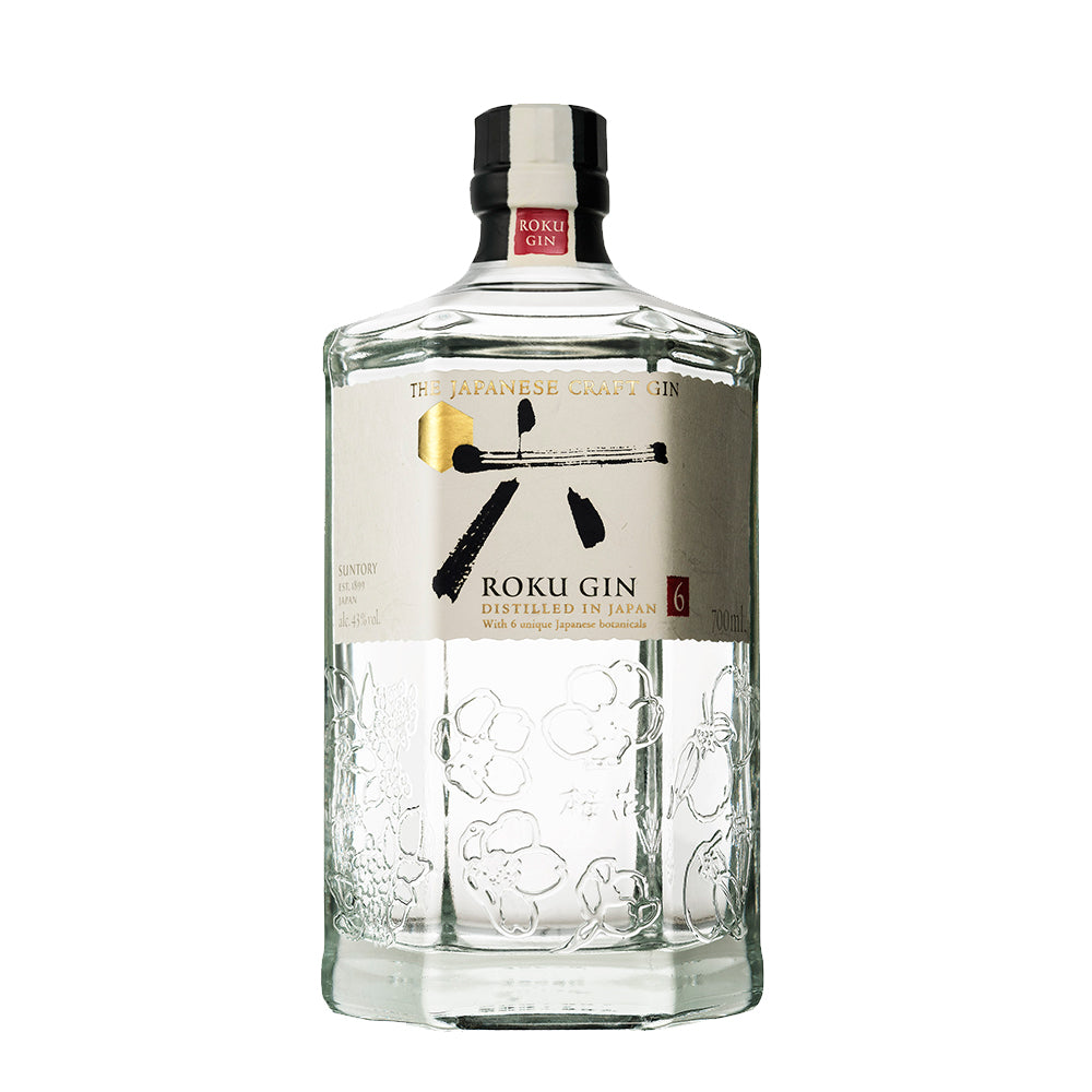 Suntory Roku Gin - 700ml London Dry Gin - Drinkka Alcohol Delivery Best Whiskey Wine Gin Beer Vodkas and more for Parties in Makati BGC Fort and Manila | Bevtools Bar and Beverage Tools