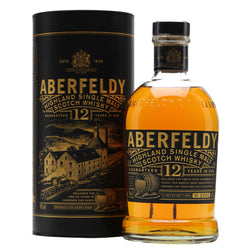 Aberfeldy 12 Years Highland and Single Malt Scotch Whisky