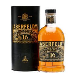 Aberfeldy 16 Years Highland Single Malt Scotch Whisky - 700ml - Bevtools Bar Tools and Alcohol Delivery
