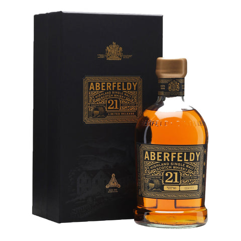 Aberfeldy 21 Years - 700ml - Bevtools Bar Tools and Alcohol Delivery
